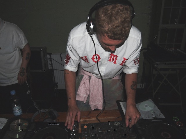 DJing at the Soulland party